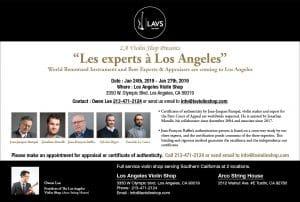Appraisals – Los Angeles Violin Shop