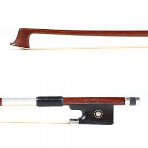 Basso Nickel Mounted Violin Bow