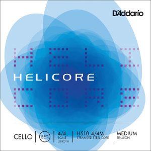 D'Addario Helicore Cello String Set, Medium Tension (4/4)