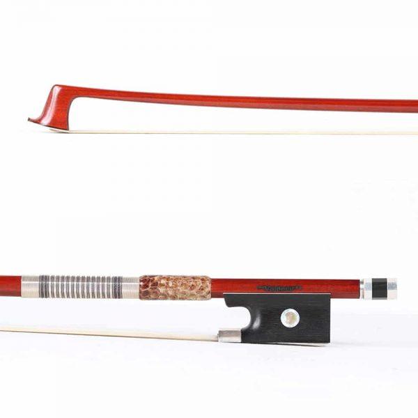 Sousa Bow Special Edition Silver Mounted Violin Bow - Valdecir