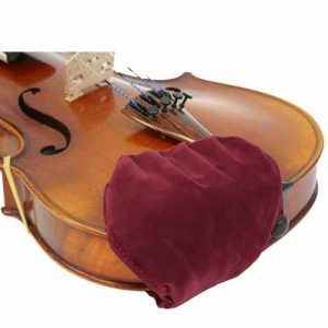 Chin-Chum Chinrest Cover (4/4, Small, Viola)
